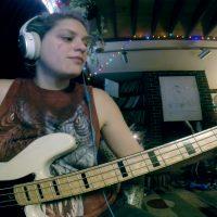 "Julie Slick: Adrian Belew Power Trio ""B3"" Bass Playthrough"