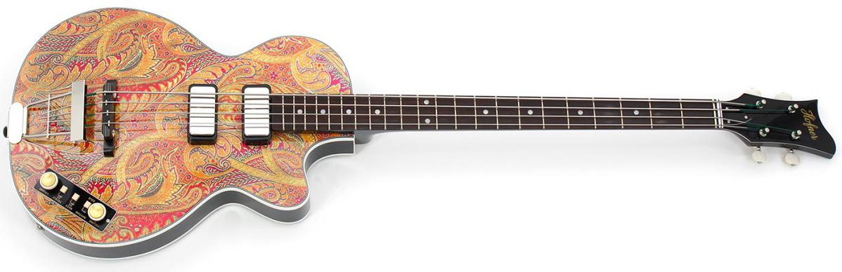 Höfner Guitars Gold Label Paisley 500/2 Club Bass