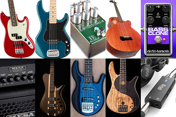 Bass Gear Roundup: The Top Gear Stories in October 2016