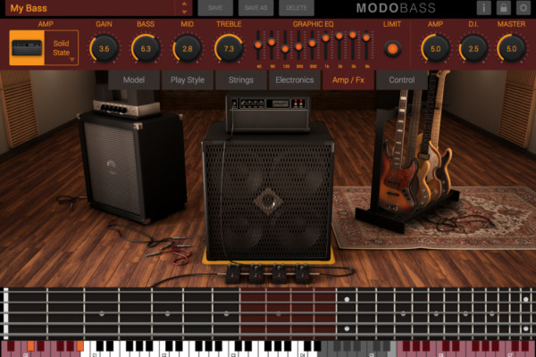 IK Multimedia Introduces MODO Bass Virtual Instrument
