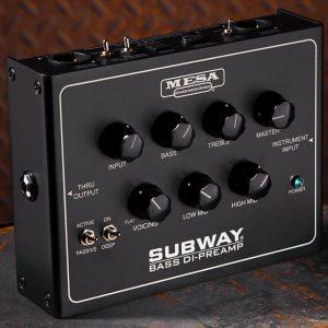 Mesa Engineering Subway Bass DI-Preamp Pedal