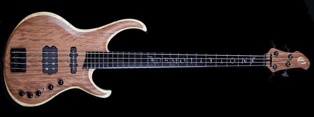 Overload Guitars & Basses Taurus 4-string Bass
