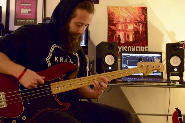 "Christian Sturgess: Brutai's ""Of Ashes"" Bass Playthrough"