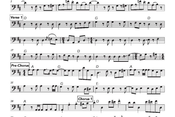 "Bass Transcription: Dee Murray's Bass Line on Elton John's ""Step Into Christmas"""