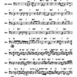 """Bass Transcription: Walter Becker's Bass Line on Steely Dan's """"Gaucho"""""""