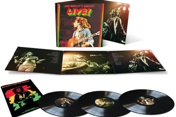 "Bob Marley and the Wailers ""Live!"" Album Reissued"