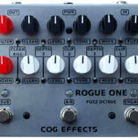 Cog Effects Introduces the Rogue One Bass Octave/Fuzz Pedal