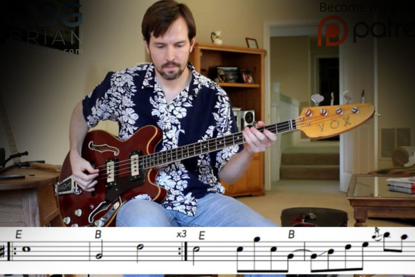 "Bass Transcription: Mick Taylor's Bass Line on The Rolling Stones' ""Tumbling Dice"""