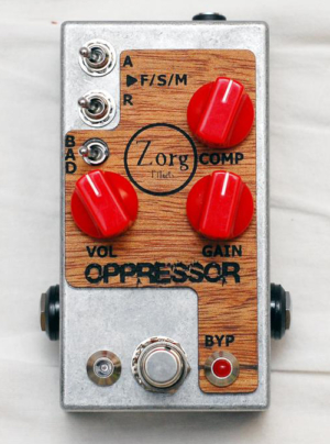 Zorg Effects Oppressor Compressor Pedal