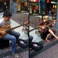 America Paz and Eduardo Sitja: Street Jam