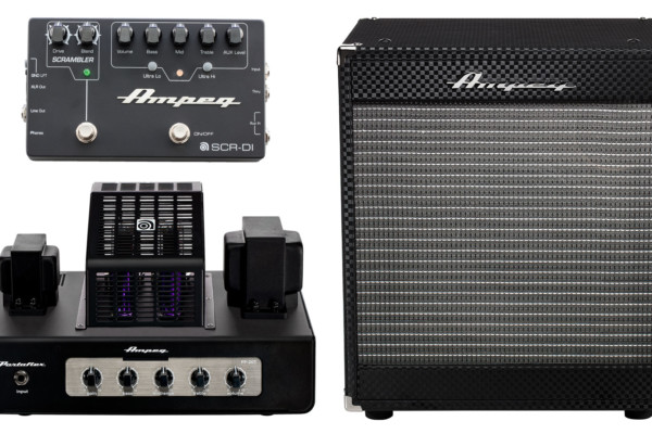 Contest: Win an All-Tube Ampeg Portaflex Bass Rig and SCR-DI Bass DI Pedal