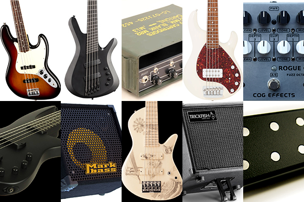 Bass Gear Roundup: The Top Gear Stories in December 2016