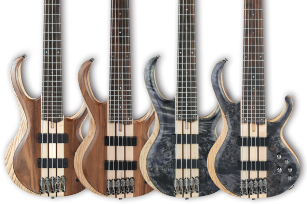 Ibanez Revamps BTB Basses For 2017