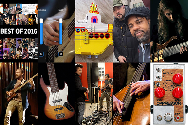 Weekly Top 10: Groove a Day, Best of 2016, Top Bass Videos and Gear, and More