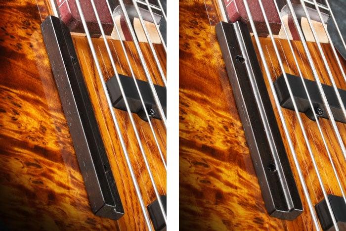 Ibanez Ashula SRAS7 Hybrid Fretted-Fretless Bass Finger Rest