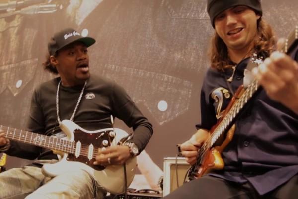 Eric Gales & Cody Wright Live at NAMM