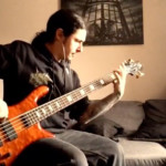 """Olivier Pinard: Cryptopsy's """"White Worms"""" Bass Playthrough"""