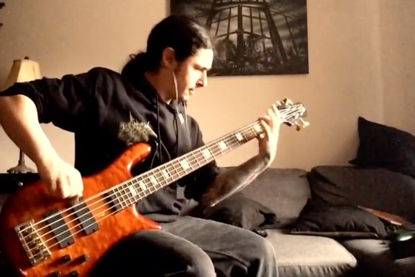 "Olivier Pinard: Cryptopsy's ""White Worms"" Bass Playthrough"