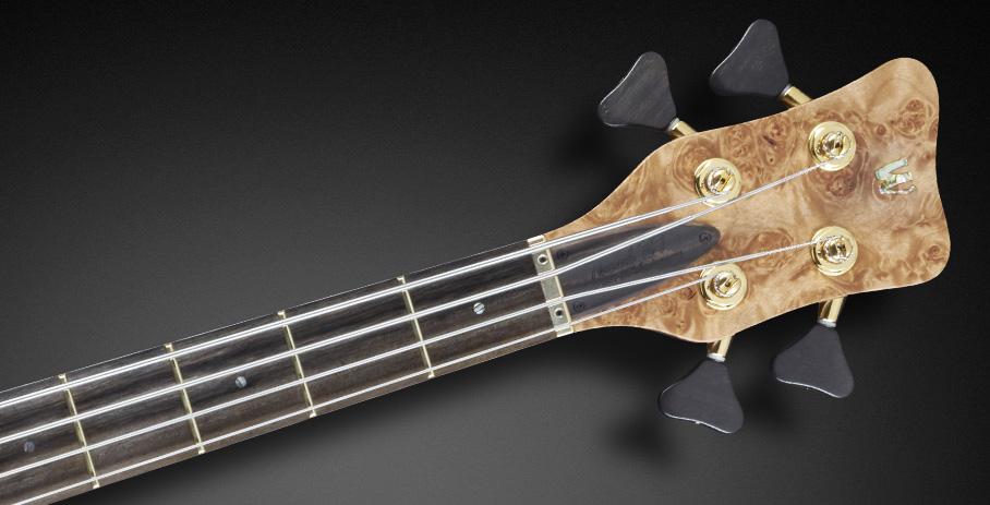 Warwick Thumb NT Limited Edition 2017 Bass Headstock
