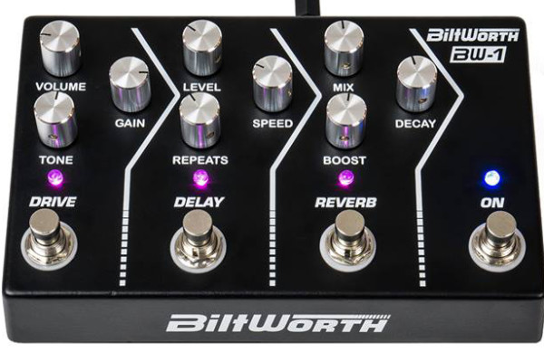 Biltworth Launches with BW-1 Effects Pedal