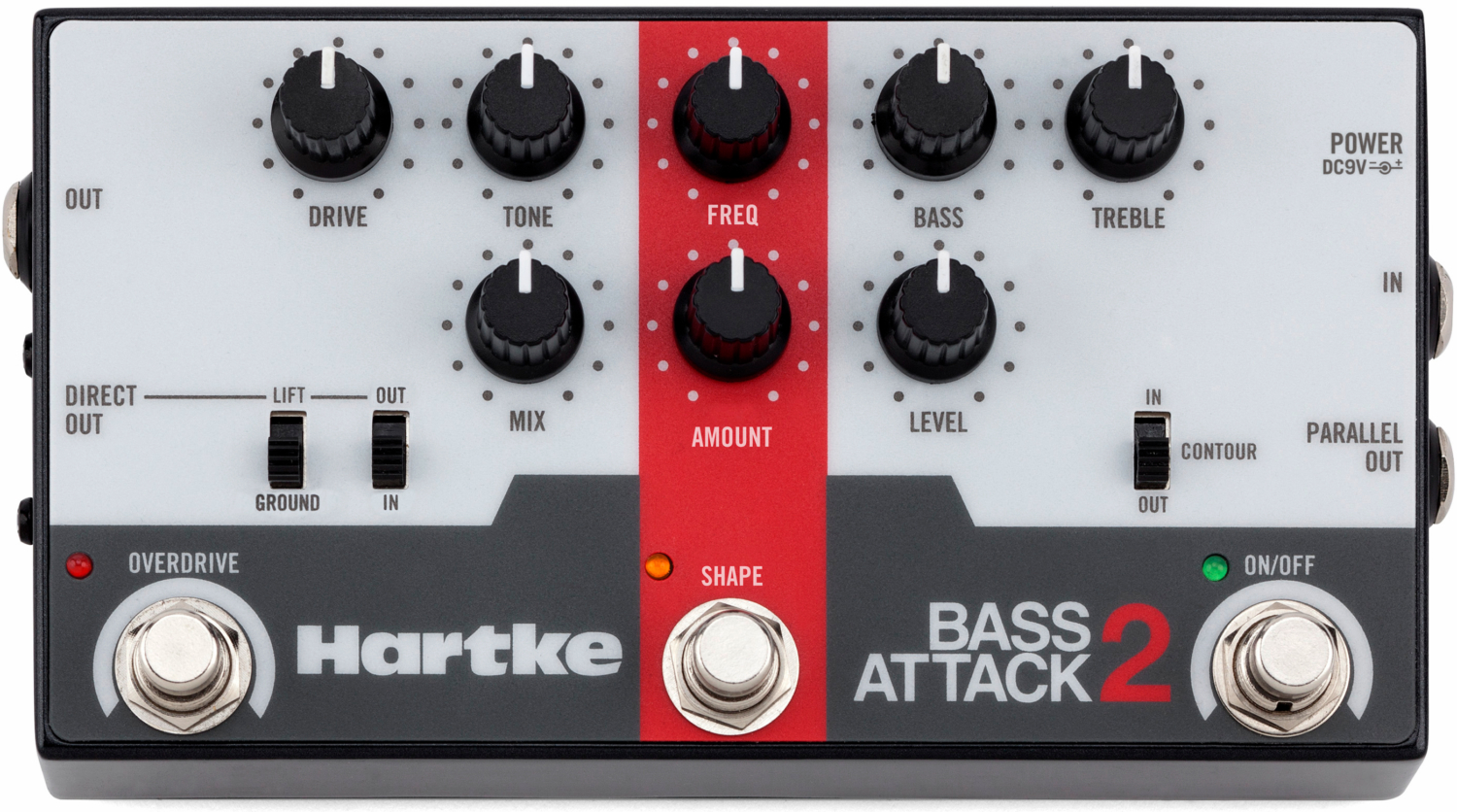 Hartke Bass Attack 2 Bass Preamp/Direct Box