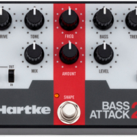 Hartke Unveils the Bass Attack 2 Preamp Pedal