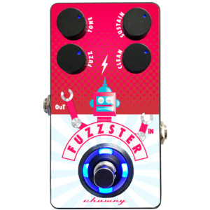 Chowny Bass Introduces the Fuzzster Bass Fuzz Pedal