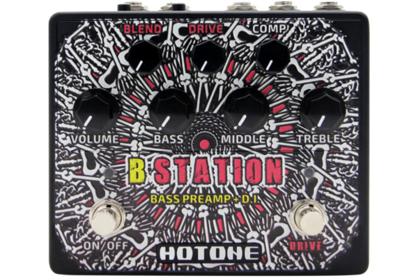 Hotone Audio Now Shipping B Station Bass Preamp/DI