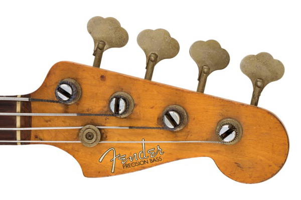 James Jamerson Bass Headstock