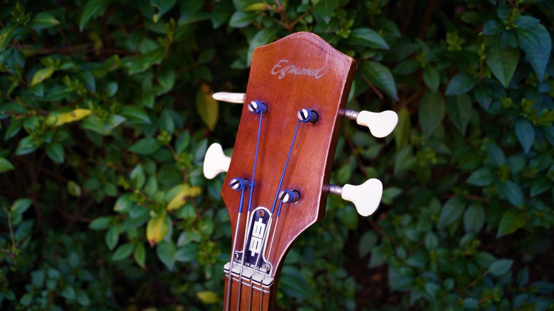 1964 Egmond Princess Bass Headstock