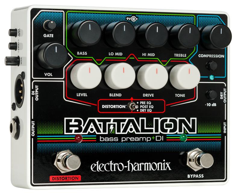 Electro-Harmonix Batallion Bass Preamp