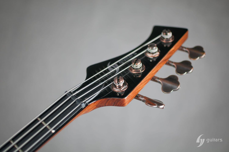 GV Guitars NeoFang Steambass Headstock