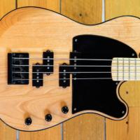 Bass of the Week: Moniker Guitars Natural Dixie Double P-Bass