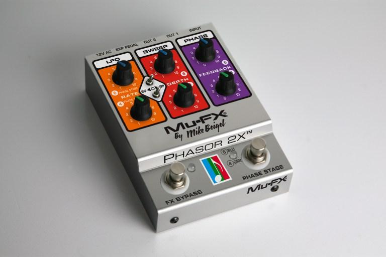 Mu-FX Phasor 2X Pedal