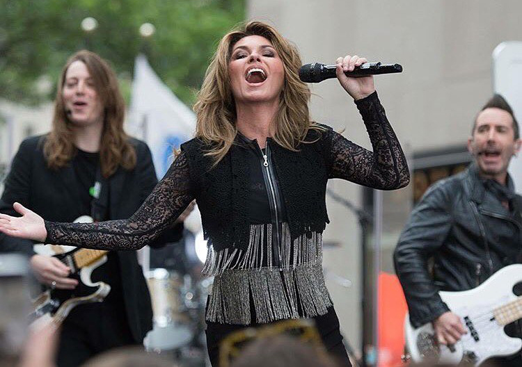 Shania Twain on The Today Show with Derek Frank