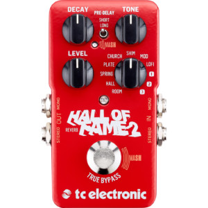 TC Electronic Unveils the Hall of Fame 2 Reverb