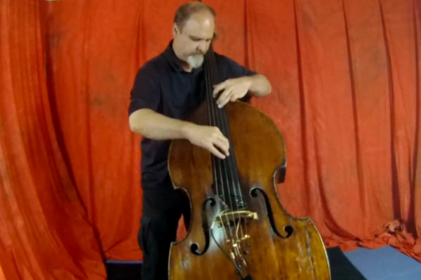 "Donovan Stokes: Upright Bass Cover of Cliff Burton's ""Anesthesia (Pulling Teeth)"""