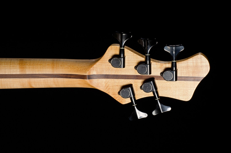Hernan Gordon Astor Bass Back of Headstock