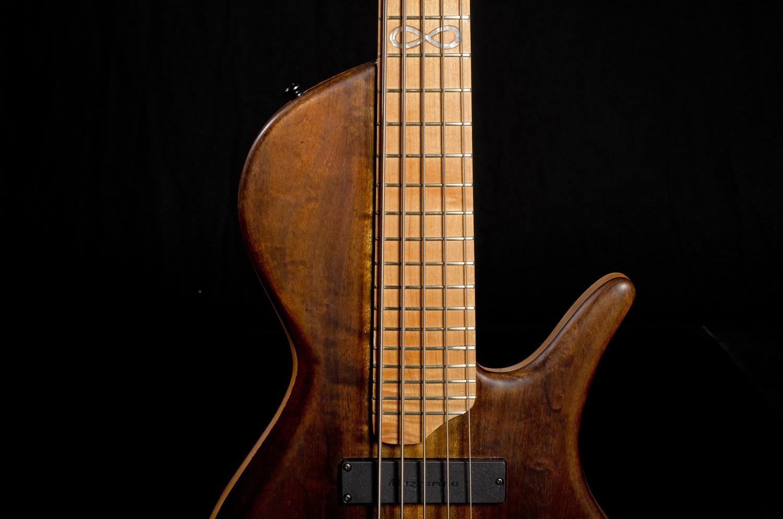 Hernan Gordon Astor Bass Fingerboard