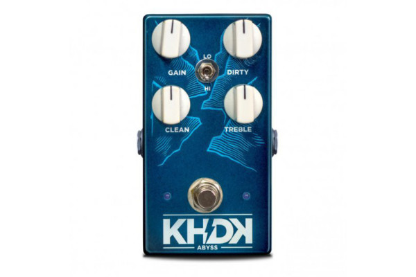 KHDK Electronics Unveils the Abyss Bass Overdrive Pedal