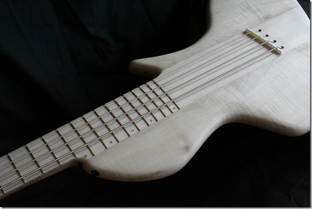 AJR Guitarmods Psilos Bass Body Closeup