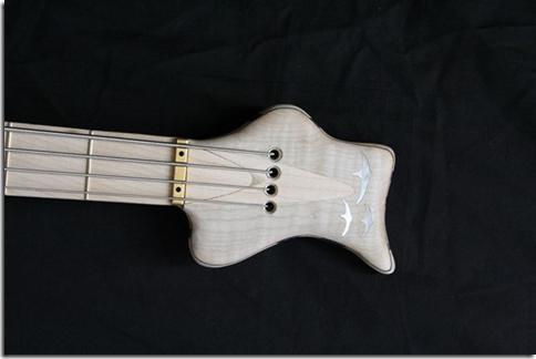 AJR Guitarmods Psilos Bass Headstock
