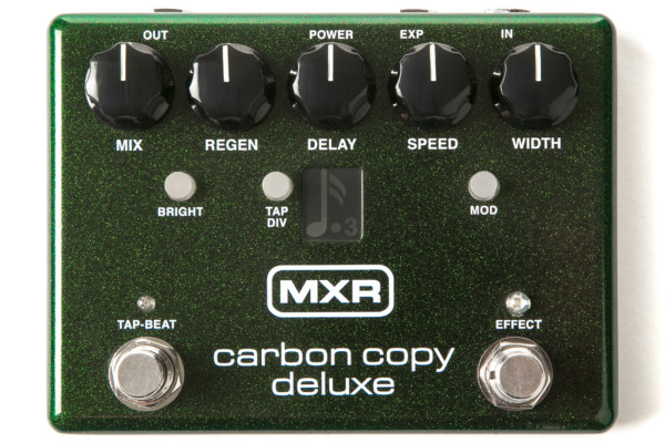 MXR Introduces Deluxe Version of Carbon Copy Analog Delay Pedal