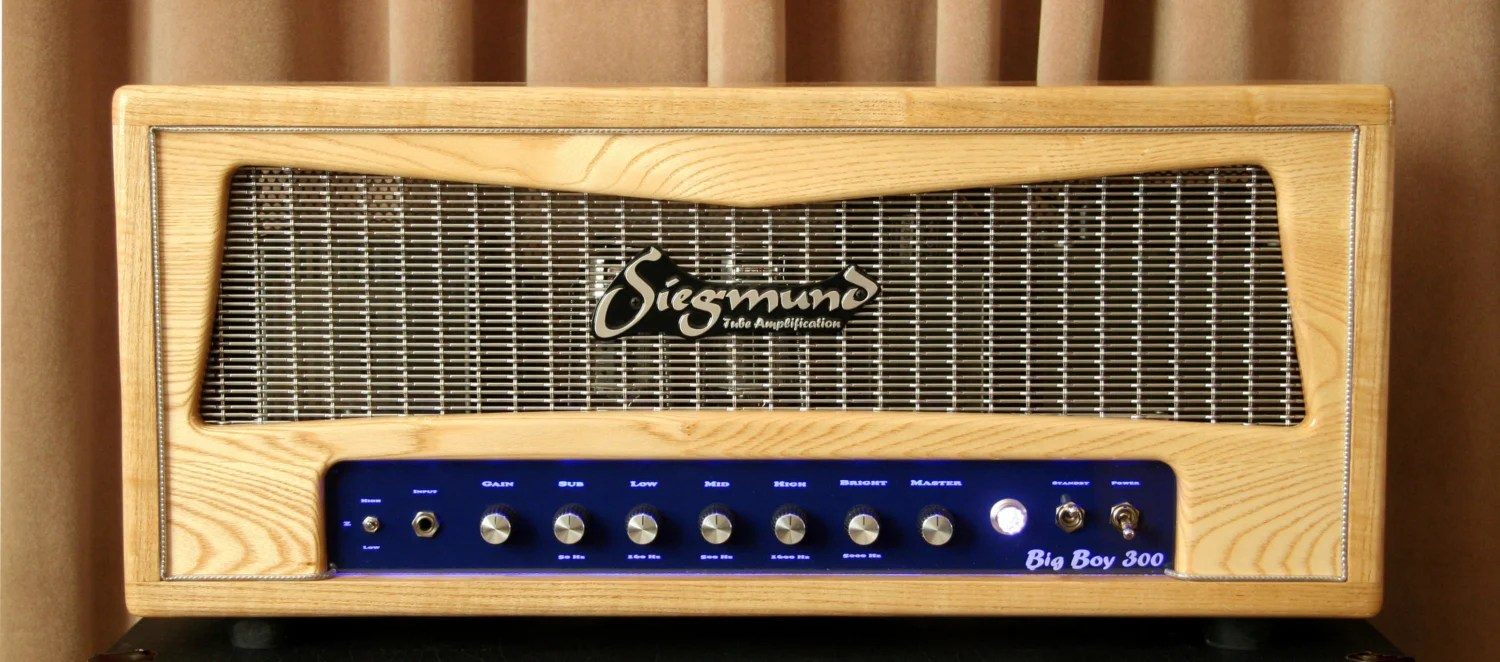 Siegmund Amplifiers Big Boy 300 Bass Amp