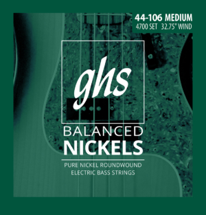 GHS Strings Balanced Nickels Bass Strings