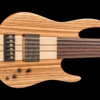 Bass of the Week: Fodera Zebrawood AJ Contrabass Shape 12 Elite