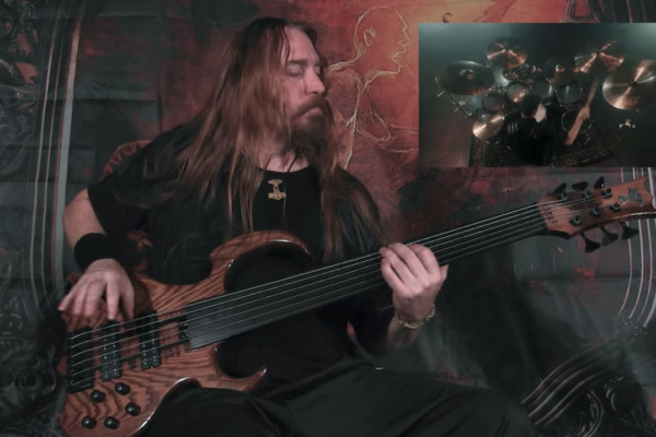"Steve Di Giorgio: Bass Playthrough of Gone In April's ""As Hope Welcomes Death"""
