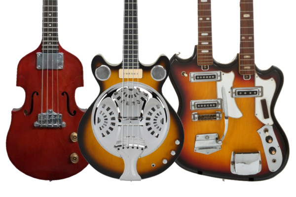 Eastwood Guitars Unveils Two New Basses, Teases Doubleneck 4/6
