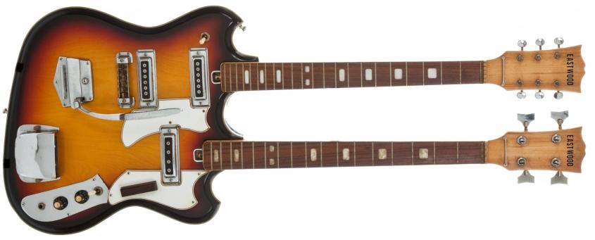 Eastwood Doubleneck 4-6 Bass Guitar
