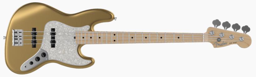 Fender Jazz Bass - Mystic Aztec Gold